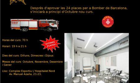 Cursos temari Bombers Barcelona 2016-2017