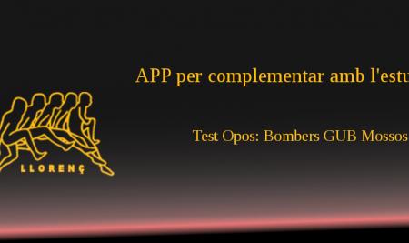 App Test opos: Bombers GUB Mossos