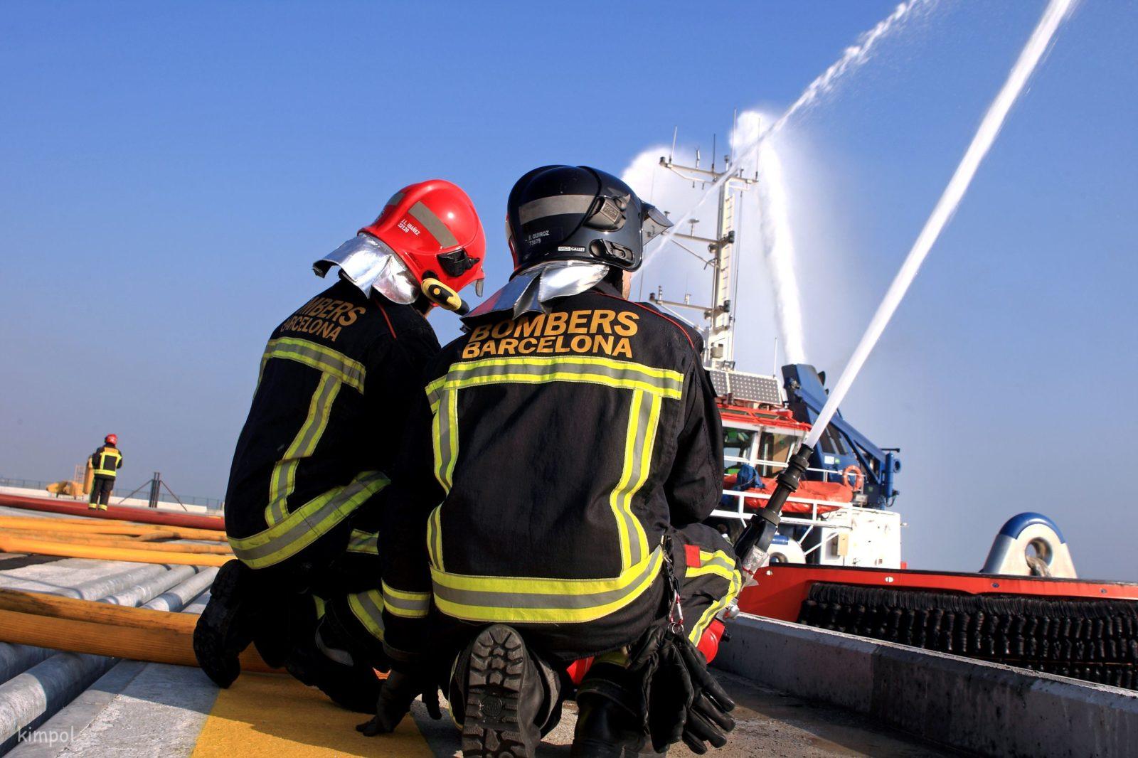 bomberos barcelona 2019
